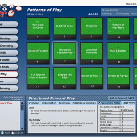G.A.P.S. Australian Football Teaching/Coaching Software