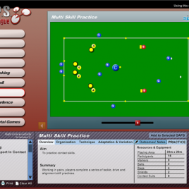 G.A.P.S. Rugby League Teaching/Coaching Software