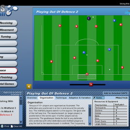 G.A.P.S. Football / Soccer Teaching/Coaching Software