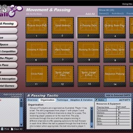 G.A.P.S. Netball Teaching/Coaching Software