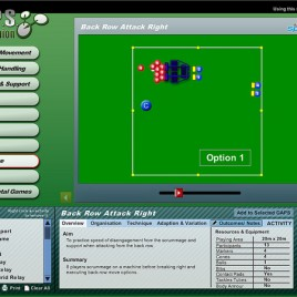 G.A.P.S. Rugby Union Teaching/Coaching Software