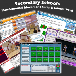 Secondary Schools 'Movement, Games and Health & Fitness' Pack